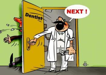 tandarts deur