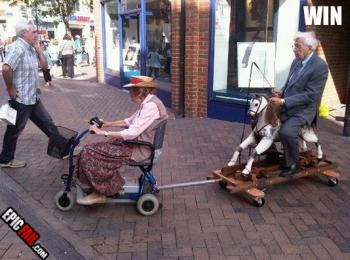 ouderen spelen