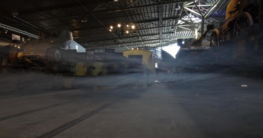 Spoorwegmuseum tanks