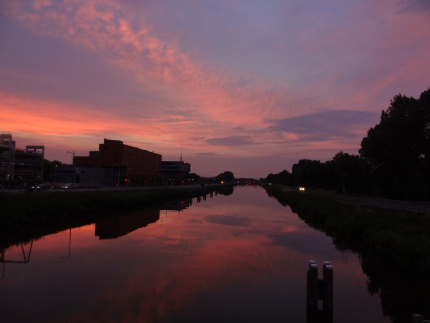 Avond Noordhollands Kanaal