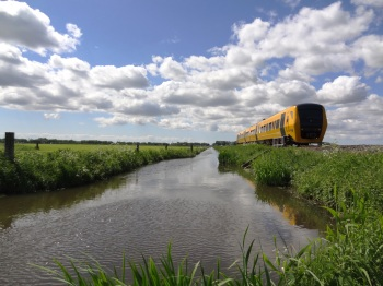 Kampen trein naar Zwolle