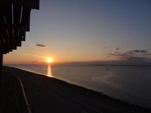 Den Helder zonsondergang