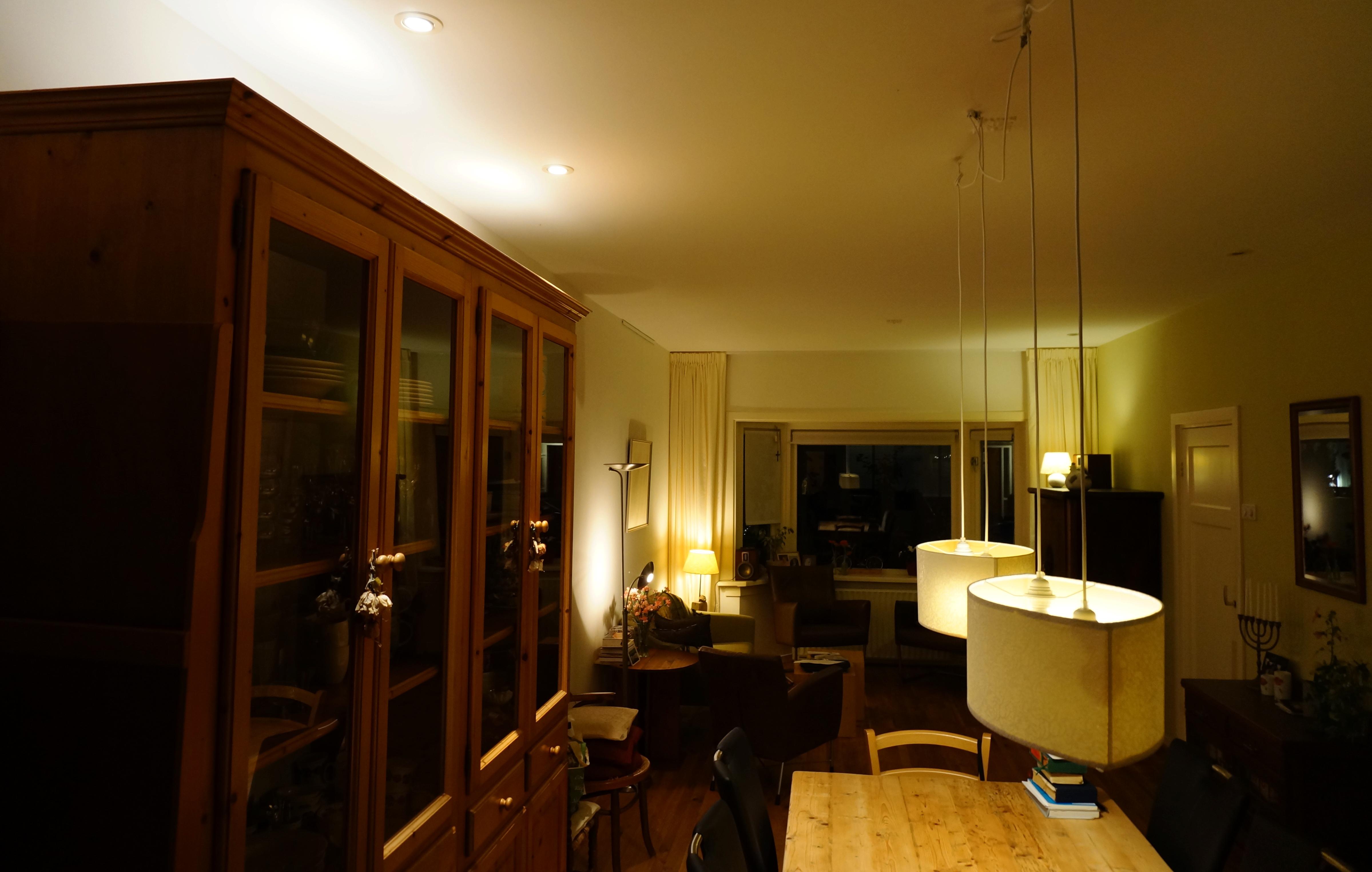 Verlichting in woonkamer interieur meubilair idee n for Interieur verlichting