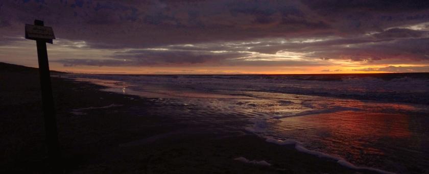 Egmond aan Zee zonsondergang 5 b