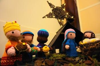 Kerststal Open Hof 3