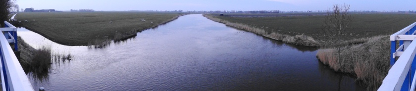 Panorama water Friesland