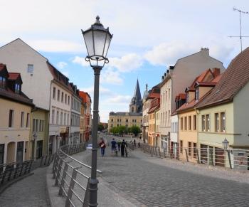 Bernburg Talstadt en Marktplatz