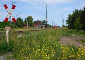 Angern Rogätz Bahnhof