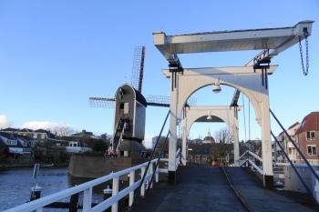 Leiden molen aan de Rijn 2