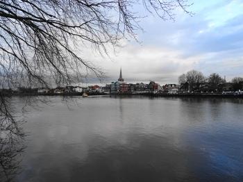 Zicht op Ouderkerk aan den IJssel