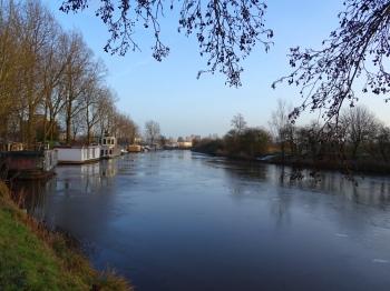 Hoendiep aan de rand van Groningen