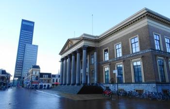 Leeuwarden Gerechtshof en Achmeatoren
