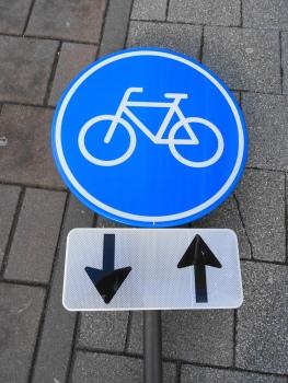 Monument voor de gevallen fietser