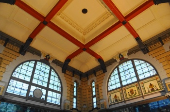 Station Leeuwarden interieur hal 2