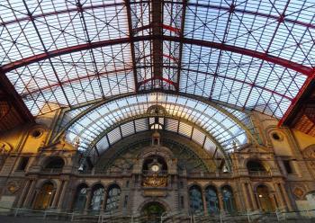 Antwerpen stationskoepel