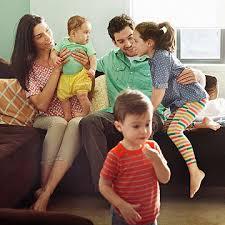 gezin en afstand