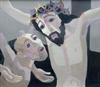 Jezus en de goede moordenaar website Sjef Hutsch