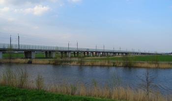 Hogesnelheidstraject bij Zoetermeer