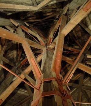 Spanten toren van De Klerk