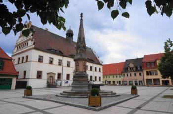 Bad Schmiedeberg Marktplatz