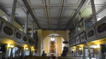 Interieur kerk Gr