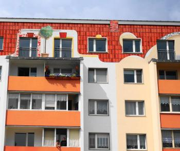 Lutherstadt Wittenberg Plattenbau reovatie