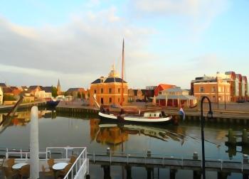 Schilderij Harlingen Haven